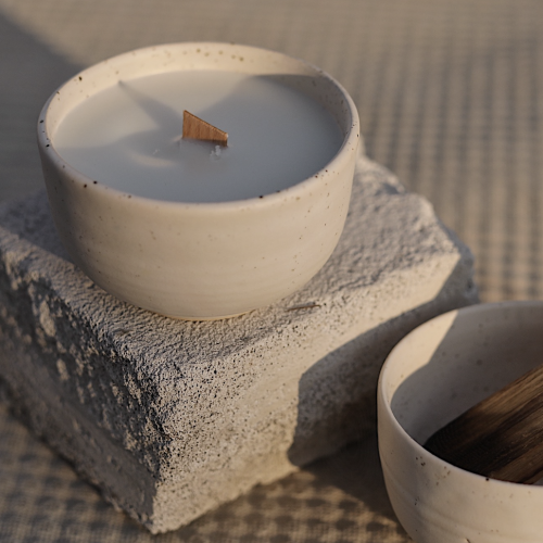 Scented soya candle Palo Santo